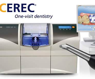 Cerec dentist in Huntington Beach